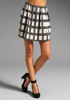 Geo Knit Skirt
