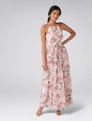 Forever New Jenna Printed Maxi Dress - Rose Print - 4