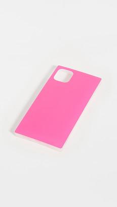 Idecoz 3 Piece Neon Pink Iridescent Ensemble iPhone Accessories