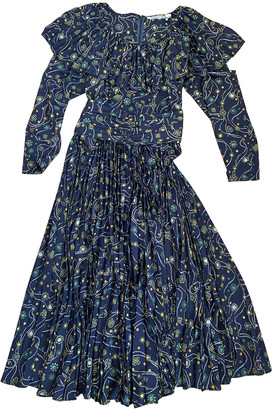 Cacharel Navy Polyester Dresses