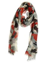 Valentino Camouflage Scarf