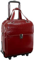 McKlein McKleinUSA Novembre 15.6 Leather Vertical Detachable -Wheeled Laptop Briefcase