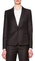 Giorgio Armani Mini-Houndstooth Single-Button Jacket