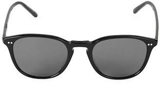 Oliver Peoples 51MM Forman Polarized Square Sunglasses