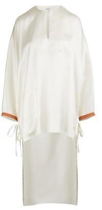 Loewe Long satin shirt