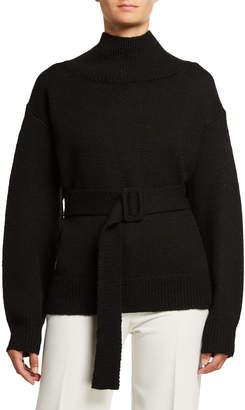 Dries Van Noten Wool Belted Sweater