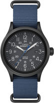 Timex Expedition Scout Mens Blue Fabric Strap Watch