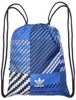New Mens adidas Blue Drawstring Gymsack Polyester Bag Backpacks
