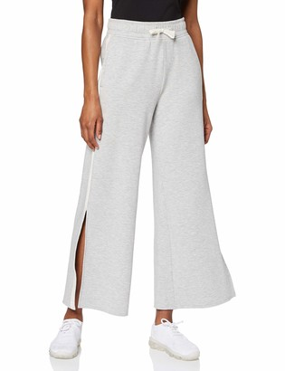 Aurique Amazon Brand Women's Side Stripe Sports Trousers