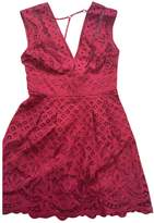 Free People Burgundy Lace Dresses