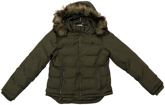 Jack Wills Green Jacket for Women