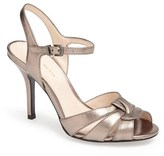 Pelle Moda 'Gypsy' Metallic Leather Sandal