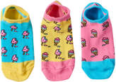 LittleMissMatched Girls 4-9 Little Miss Matched 3-pk. Scented Liner Socks