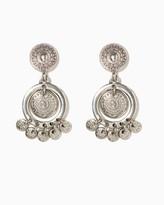 Charming charlie Sun Coin Drop Earrings