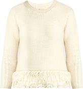 Vanessa Bruno Fluidity tassel-trimmed wool-knit sweater