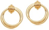 Missoma Lucy Williams Gold Entwine Front Facing Hoops