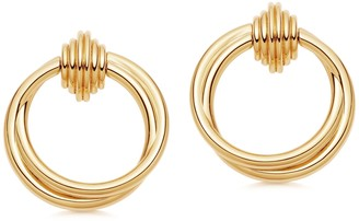 Missoma Lucy Williams Front Facing Hoop Earrings