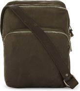 Guidi Three-pocket horse leather messenger bag