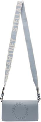 Stella McCartney Blue Logo Wallet Crossbody Bag