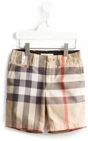 Burberry House Check shorts - kids - Cotton - 8 yrs