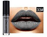 Matte Lipstick Lip Gloss, BOYON Waterproof Long Lasting Liquid Womens Cosmetic Makeup