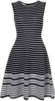 Oscar de la Renta striped a-line dress