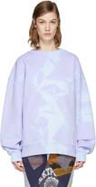 Acne Studios Purple Yana Tie-Dye Pullover
