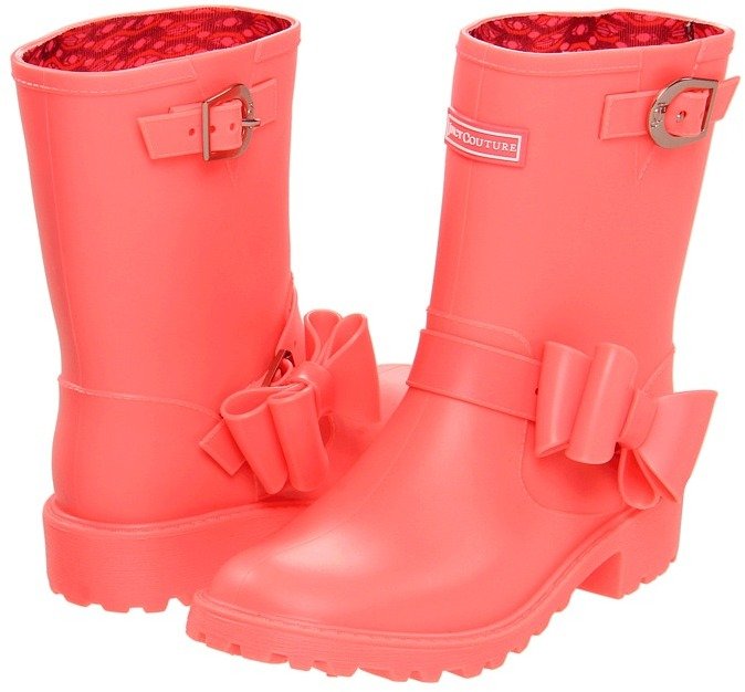 Juicy Couture Giselle (Toddler/Youth) (Candy Pop Matte) - Footwear