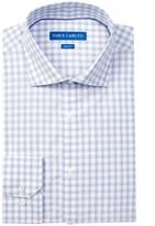 Vince Camuto Oxford Slim Fit Check Dress Shirt