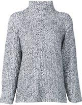 Alexander Wang marled knit jumper - women - Cotton/Acrylic/Nylon/Wool - L