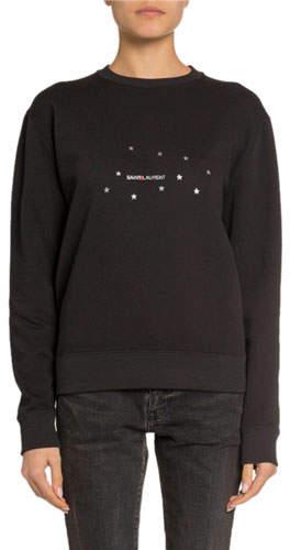 31b1268934d48d Saint Laurent Sweatshirt - ShopStyle