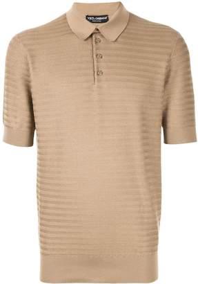 Dolce & Gabbana Henley polo shirt