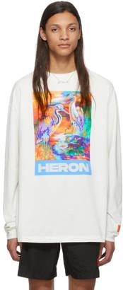 Heron Preston Off-White Heron Colors Long Sleeve T-Shirt