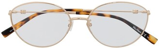 Max Mara Oval-Frame Glasses