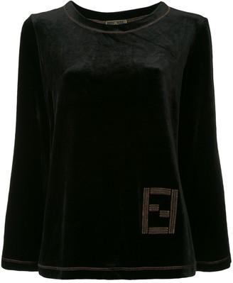 Fendi Pre-Owned Long Sleeve Sweatshirt