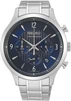 Seiko Stainless Steel Bracelet Chronograph Watch