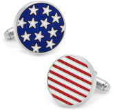 Asstd National Brand Stars and Stripes American Flag Cuff Links