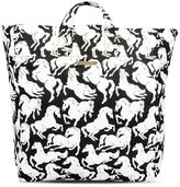 Stella McCartney horses print beach bag