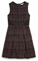 K.C. Parker Girl's Boucle Dress
