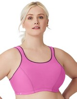 Thumbnail for your product : Glamorise Full Figure High Impact Cami Wonderwire Sports Bra #9160 Rose