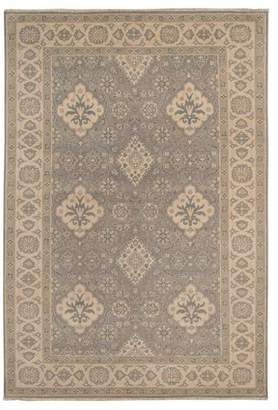 Pottery Barn Tilly Handknotted Rug - Tan Multi