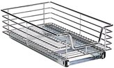 Household Essentials C1221 Extra Deep Sliding Cabinet Organizer, Chrome