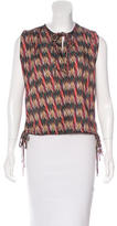 Etoile Isabel Marant Printed Sleeveless Top