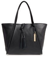 Vince Camuto Taro Leather Tote - Black