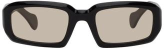 Port Tanger Black and Brown Mektoub Sunglasses