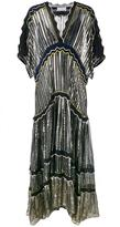 Peter Pilotto Metallic Silk-Blend Gown - women - Silk/Polyester/Spandex/Elastane/Viscose - S