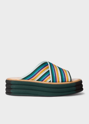 Paul Smith Women's 'Artist Stripe' 'Debra' Sandals