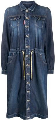 DSQUARED2 Denim Shirt Dress