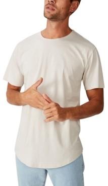 Cotton On Men's Longline Scoop Burnout T-shirt