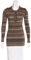 Dolce & Gabbana Long Sleeve Knit Top